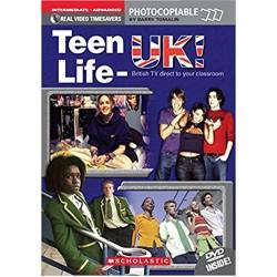 Teen Life - UK with DVD, Timesaver B1/C1