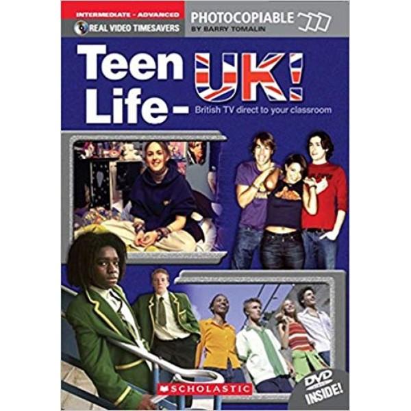 Teen Life - UK with DVD. Level B1+ - C1. Intermediate - Advanced