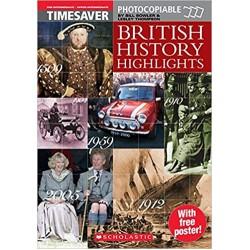 British History Highlights - Timesaver A2/B2