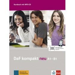 DaF kompakt neu A1-B1: Kursbuch mit MP3-CD