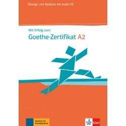 Mit Erfolg zum Goethe-Zertifikat A2:Übungs- und Testbuch mit Audio-CD