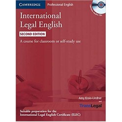 International Legal English Student's Book with Audio CDs (3) 2nd Edition, Bruno-Linder