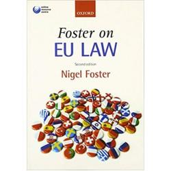 Foster on EU Law 2nd Edition, Nigel Foster