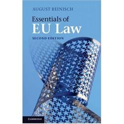 Essentials of EU Law 2nd Edition,  August Reinisch