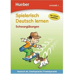 Spielerisch Deutsch Lernen: Schwungubungen - Lernstufe 1