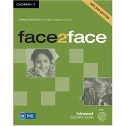 face2face Advanced Teacher's Book with DVD