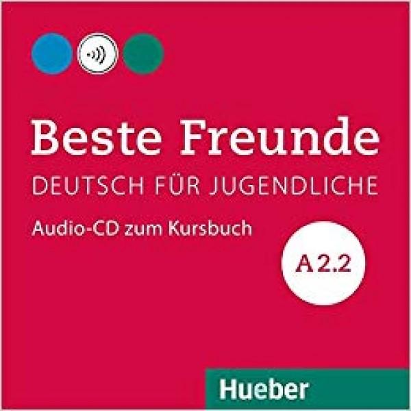 Beste Freunde: A2.2  Audio-CD zum Kursbuch