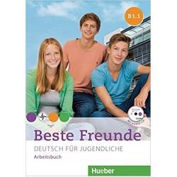 Beste Freunde: B1.1  Arbeitsbuch  mit Audio-CD