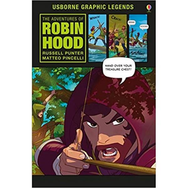 The Adventures of Robin Hood (Usborne Graphic Legends), Punter