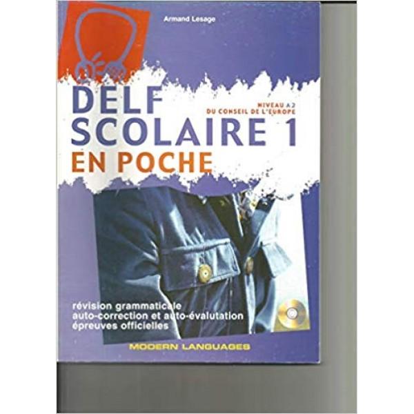 Delf Scolaire A2 en poche + CD (niveaux A1, A2)