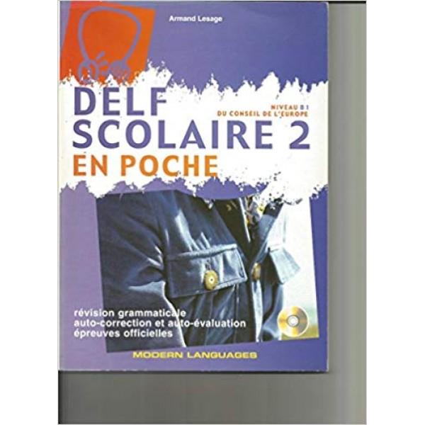 Delf Scolaire B1 en poche + CD (niveau B1)