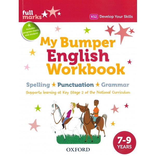 My Bumper English Workbook 7-9 years Spelling-Punctuation-Grammar