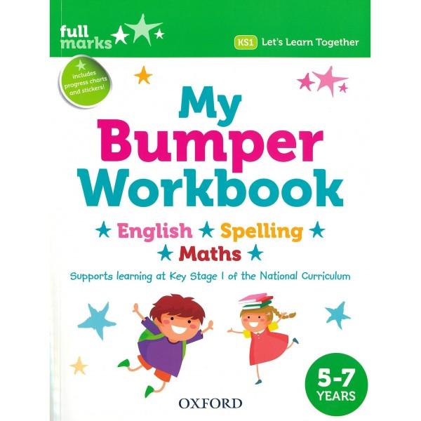My Bumper Workbook 5-7 years, English-Spelling-Maths