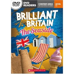 Level 2 Brilliant Britain .The Seaside Book with DVD