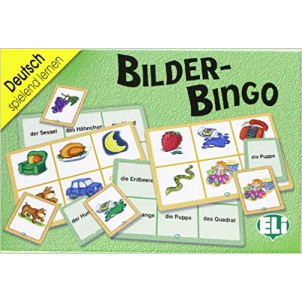 ELI Language Games: Bilder Bingo (German)