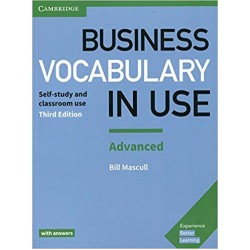 Business Vocabulary in Use: Advanced Book with Answers, Mascull