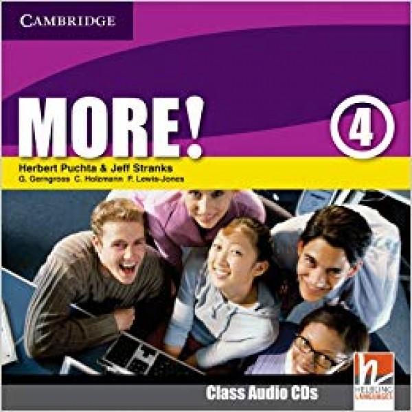 More! Level 4 Class Audio CDs