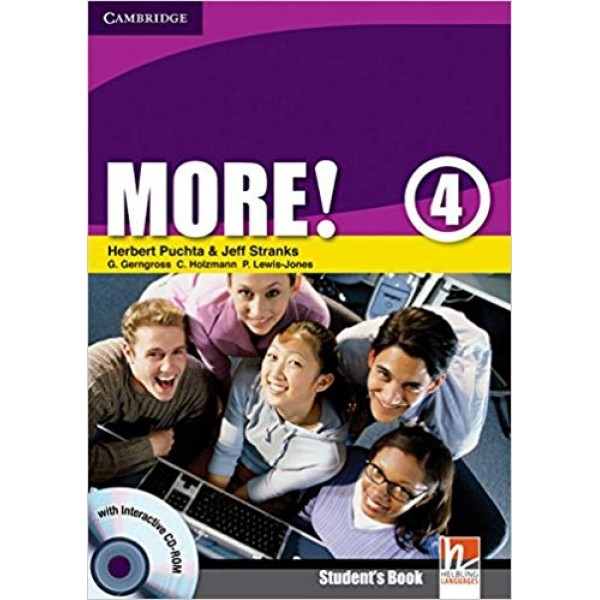 More! Level 4 Student's Book with Interactive CD-ROM