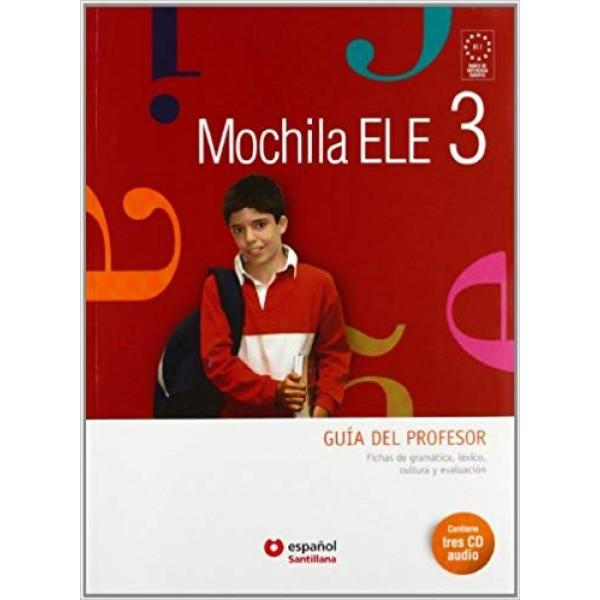 Mochila ELE 3: Guia del profesor + CD