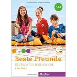 Beste Freunde: A1.1 Arbeitsbuch mit Audio-CD