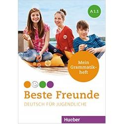 Beste Freunde: A1.1 Deutsch für Jugendliche. Mein Grammatikheft