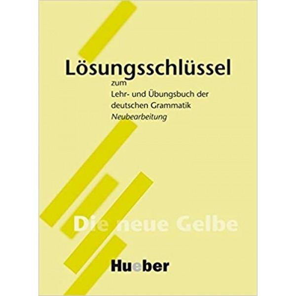 Lehr-Und Ubungsbuch Der Deutschen Grammatik Lösungsschlüssel