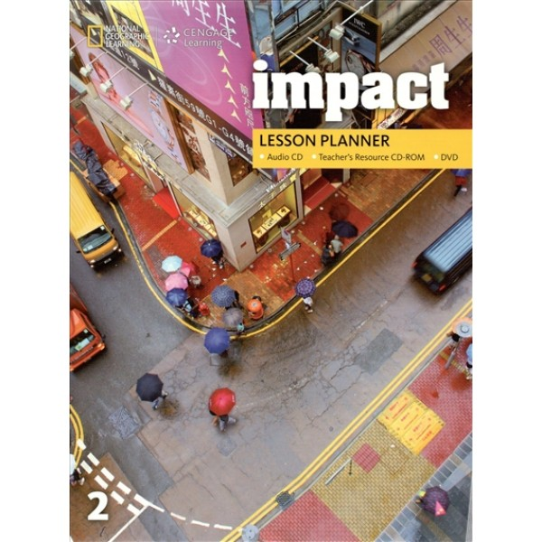 Impact 2 Lesson Planner + Audio CD