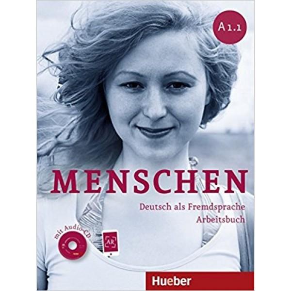Menschen: A1.1 Arbeitsbuch mit Audio-CD