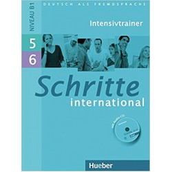 Schritte International Intensivtrainer MIT Audio-CD 5 & 6