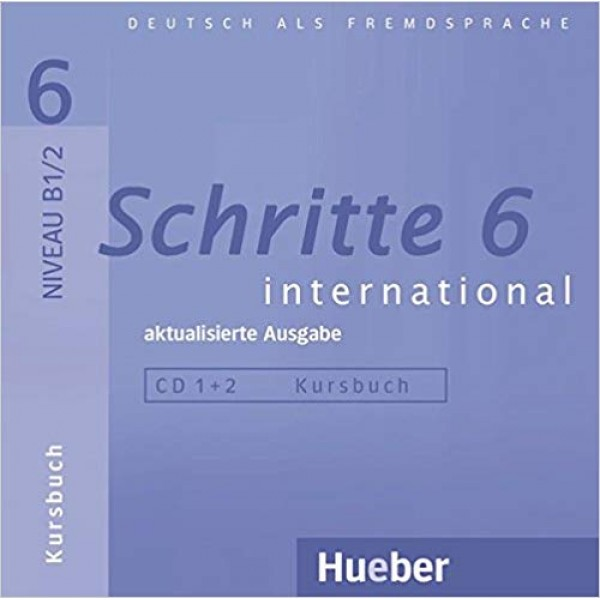Schritte International 6 Audio-CDs zum Kursbuch