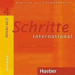 Schritte International 4 Audio-CDs zum Kursbuch