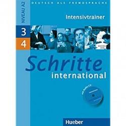 Schritte International Intensivtrainer MIT Audio-CD 3 & 4