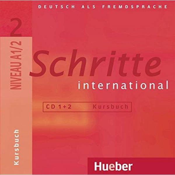 Schritte International 2 Audio-CDs zum Kursbuch