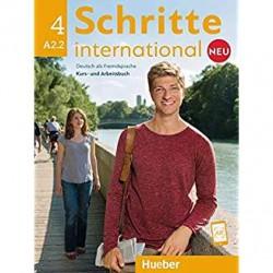 Schritte International Neu 4 Kurs- und Arbeitsbuch