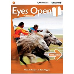 Eyes Open Level 1 Workbook with Online Practice