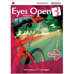 Eyes Open Level 3 Workbook with Online Practice