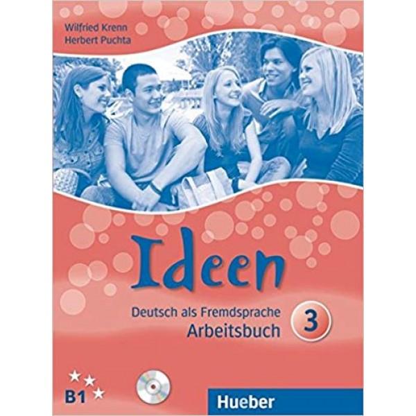 Ideen 3 Arbeitsbuch mit 2 Cds Zum Arbeitsbuch