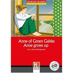 Anne of Green Gables (Level 3) with  Audio CD