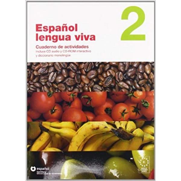 Espanol Lengua Viva: Cuaderno De Actividades + Cdr 2