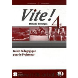 Vite! 4 Guide Pedagogique & CD-Audio