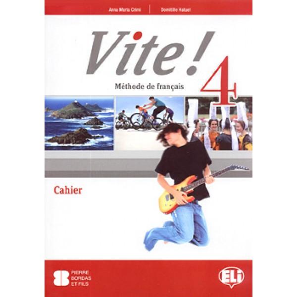 Vite! 4 Cahier & CD-audio