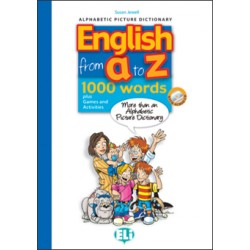 English from A to Z: Book + Audio CD