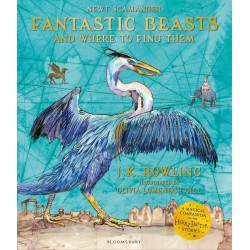Fantastic Beasts and Where to Find Them: Illustrated Edition,  J.K. Rowling (Paperback)