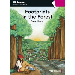 Level 6 Footprints in the Forest + Audio CD