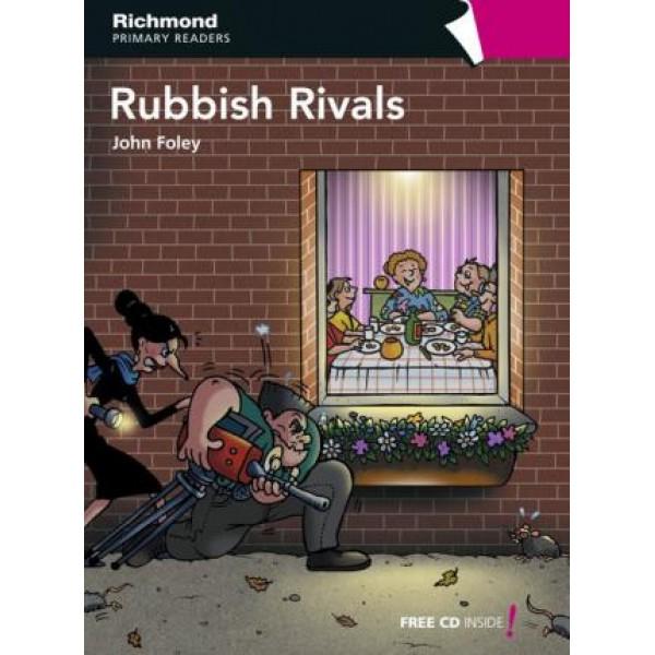 Level 6 Rubbish Rivals + Audio CD