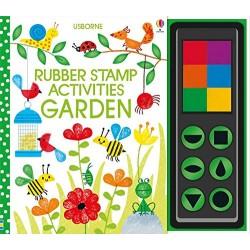 Garden Rubber Stamp Activities (Hardcover)