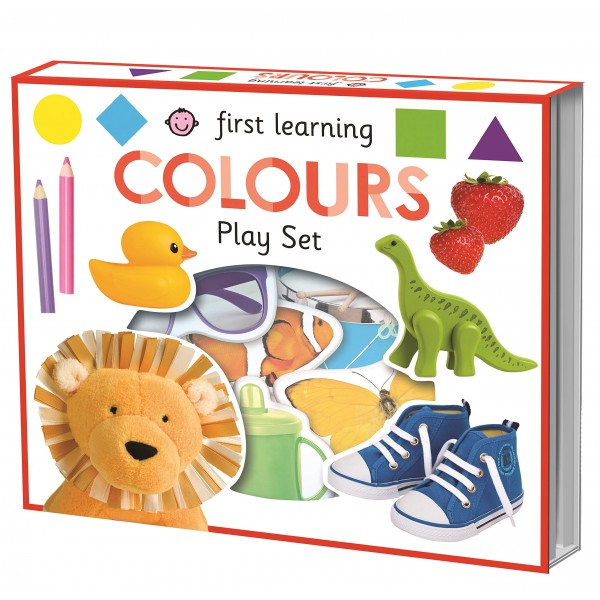 First Learning Play Set Colours