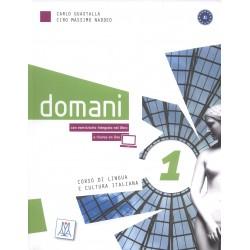 Domani 1 - Libro Dello Studente + DVD ( A1)