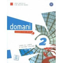 Domani 2 - Libro dello studente + Audio CD + DVD ( A2 )