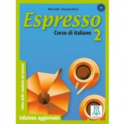Espresso 2 Edizione aggiornata - Libro dello studente ed esercizi (A2)